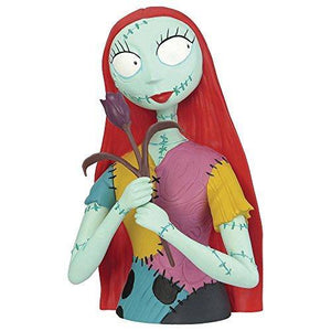 Nightmare Before Christmas Sally Bust Bank - Miracle Mile Gifts