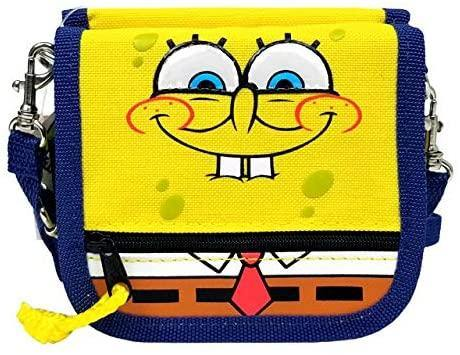 Spongebob Squarepants Wallet/Purse with Shoulder Strap - Miracle Mile Gifts