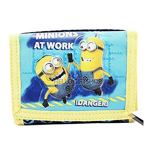 Despicable Me Minions At Work Tri-fold Wallet - Miracle Mile Gifts