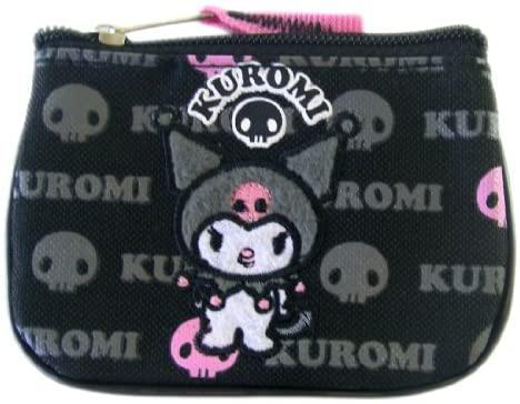 Sanrio Kuromi Black and Pink Coin Purse - Miracle Mile Gifts