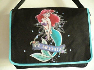 Disney Princess Ariel The Little Mermaid Messenger Bag ~ La Sirenita - Miracle Mile Gifts