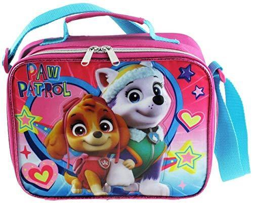 Disney Paw Patrol Paw Print Hearts Insulated Lunch Box - Miracle Mile Gifts