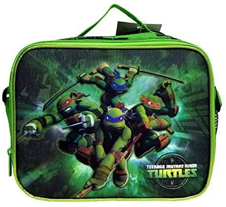Teenage Mutant Ninja Turtles Insulated Lunch Box Bag - Miracle Mile Gifts