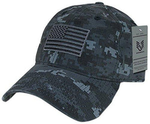 Rapid Dominance Relaxed Graphic Cap with Tonal Flag, Midnight Universal - Miracle Mile Gifts