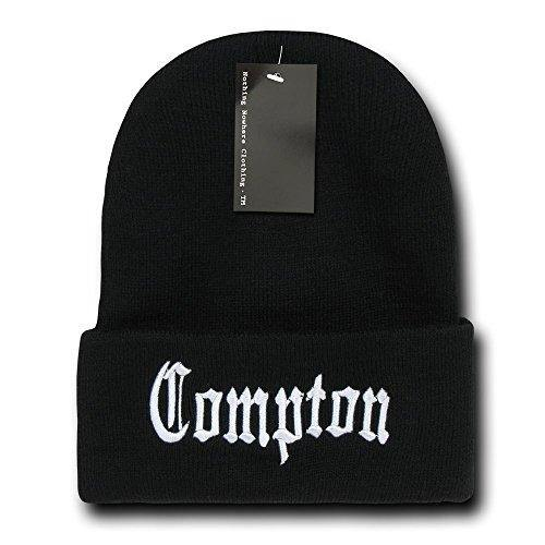 Nothing Nowhere City Compton Beanies, Black 2 - Miracle Mile Gifts