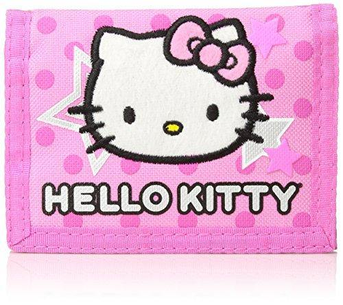 Hello Kitty Trifold Wallet - Pink Star - Miracle Mile Gifts