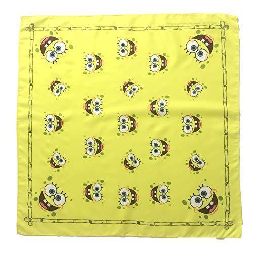 Nickelodeon Kids Face Cover Bandana Neck Gaiter Balaclava for Girls Boys Children (Spongebob Bandana) - Miracle Mile Gifts