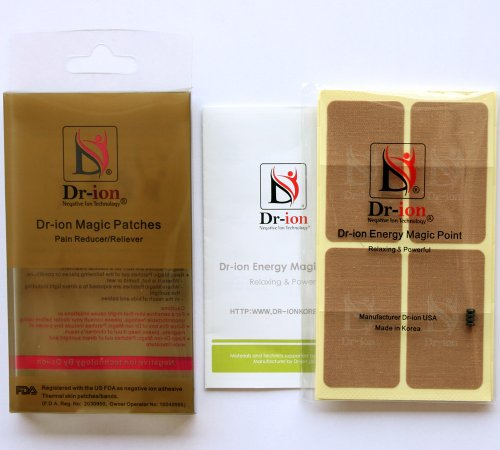 Dr-ion Negative Ion Magic Patches (Pain Reducer / Reliever) - Full or Half Pack (Full Pack (Light Brown))
