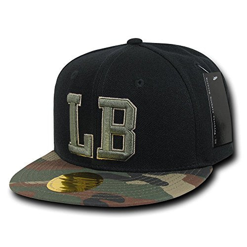 Nothing Nowhere Camo Visor City Cap, Long Beach