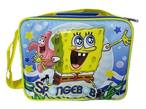 SpongeBob Squarepants Smooth Sailing - Insulated Lunch Bag with Adjustable Shoulder Straps - A17318 - Miracle Mile Gifts