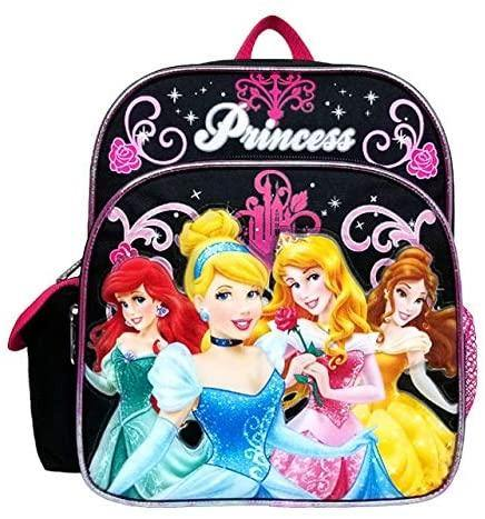 Disney Princess Mini Backpack -  Black - Miracle Mile Gifts