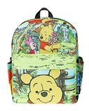 "Winnie the Pooh 12"" Deluxe Oversize Print Daypack - A21324"