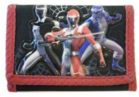 Power Rangers Wallet Red - Miracle Mile Gifts