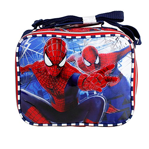 The Amazing Spider Man Boys Insulated Shoulder Lunch Box