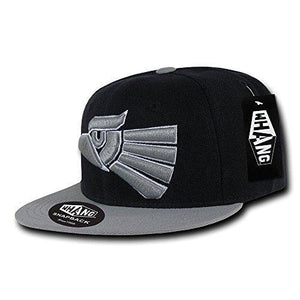 WHANG Mexico Graphic Snapback, Black/Grey - Miracle Mile Gifts