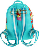 "The Little Mermaid 11"" Faux Leather Backpack - A20524"