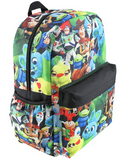 Toy Story All Over Print Deluxe Backpack With Laptop Compartment - Miracle Mile Gifts