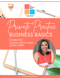 Private Practice Business Basics Workbook