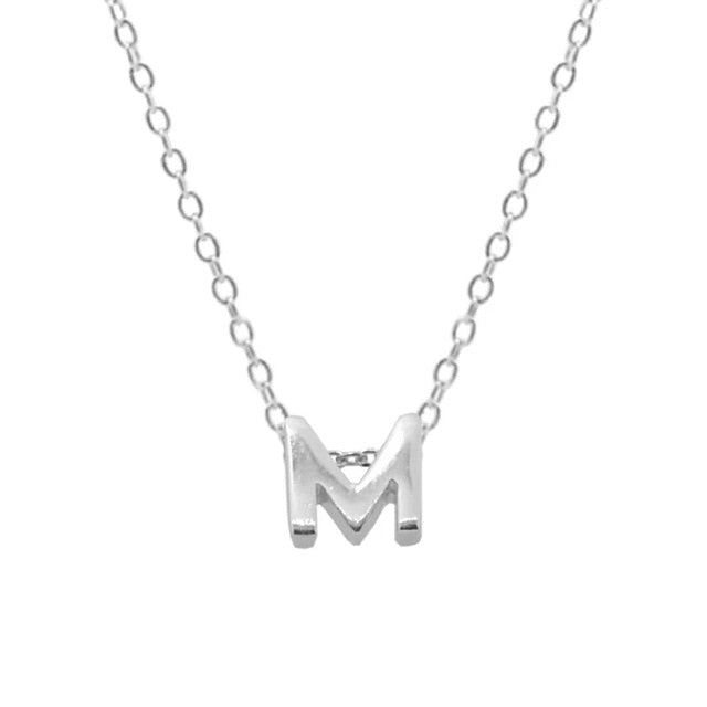 Sterling Silver Initial Choker