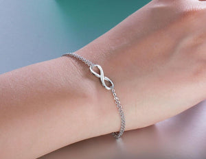 INFINITY COLLECTION 925 Sterling Silver Link Bracelet
