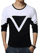 Load image into Gallery viewer, Seven Rocks  Multicoloured Trendy Cotton Round Neck T Shirt