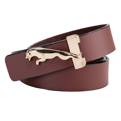 Men's Brown Leatherite Belt