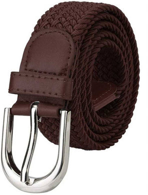 Fancy Brown Canvas Casual Belt
