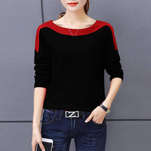 Load image into Gallery viewer, Women Black Hosery Solid Top