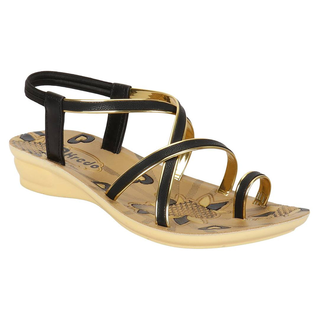 Women's Tan Synthetic Sandal