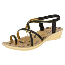 Load image into Gallery viewer, Women's Tan Synthetic Sandal