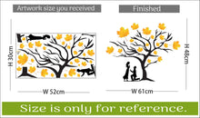 Load image into Gallery viewer, Wall Sticker Loving Couple Under A Tree Decorative Wall Sticker(48 cm X  61) (Non Returnable)