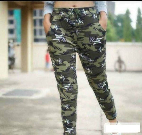 Women's Camouflage Pants