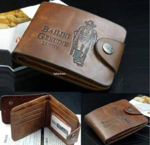 Leatherette Wallets for Men/Boys