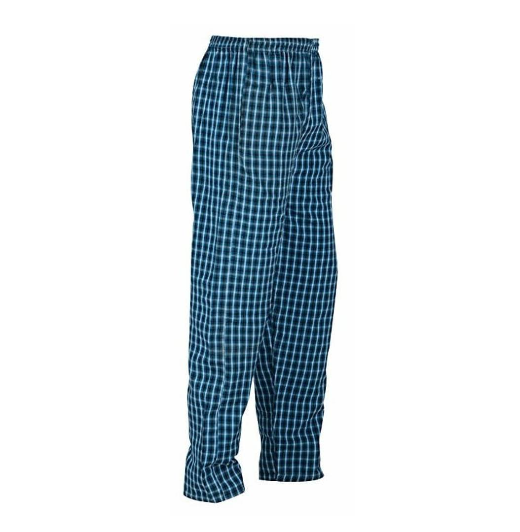 IMPORTED HIGH QUALITY COTTON MIX COLOUR & MIX PRINT CHECKERED MEN PYJAMAS WITH 2 FRONT POCKETS WITH STRING SIZE :- (L)