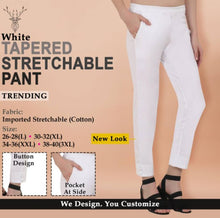 Load image into Gallery viewer, Stylish Cotton Stretchable Solid Ethnic Pant For Women