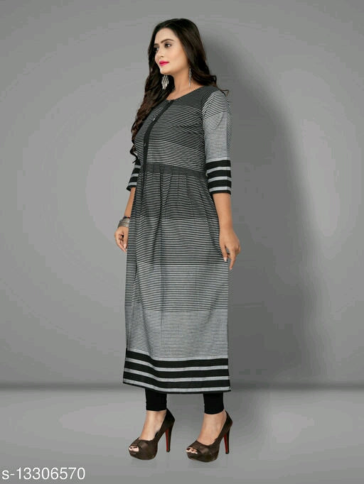 Sarika Checked Cotton Kurtis