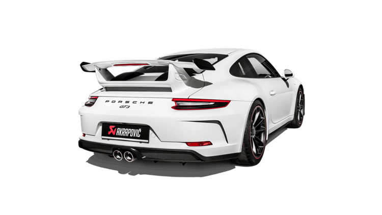 Akrapovic 991.2 GT3 Slip-On Race Titanium Exhaust
