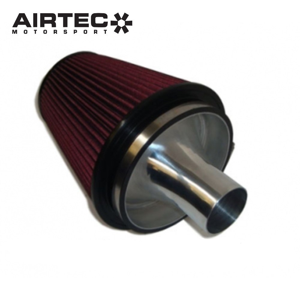 AIRTEC Group A Cone Filter with Alloy Trumpet for Cosworth – T3 & T34 Turbos