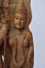 Load image into Gallery viewer, Vintage Sandalwood Beautifully Carved Radha Krishna Statue - Arts99 - Online Art Gallery