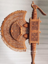 Load image into Gallery viewer, Sandalwood Unique Beautiful Krishna Collective Hand Fan - MR Handicrafts