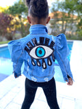 Super Star Denim  Blue Eye Drip