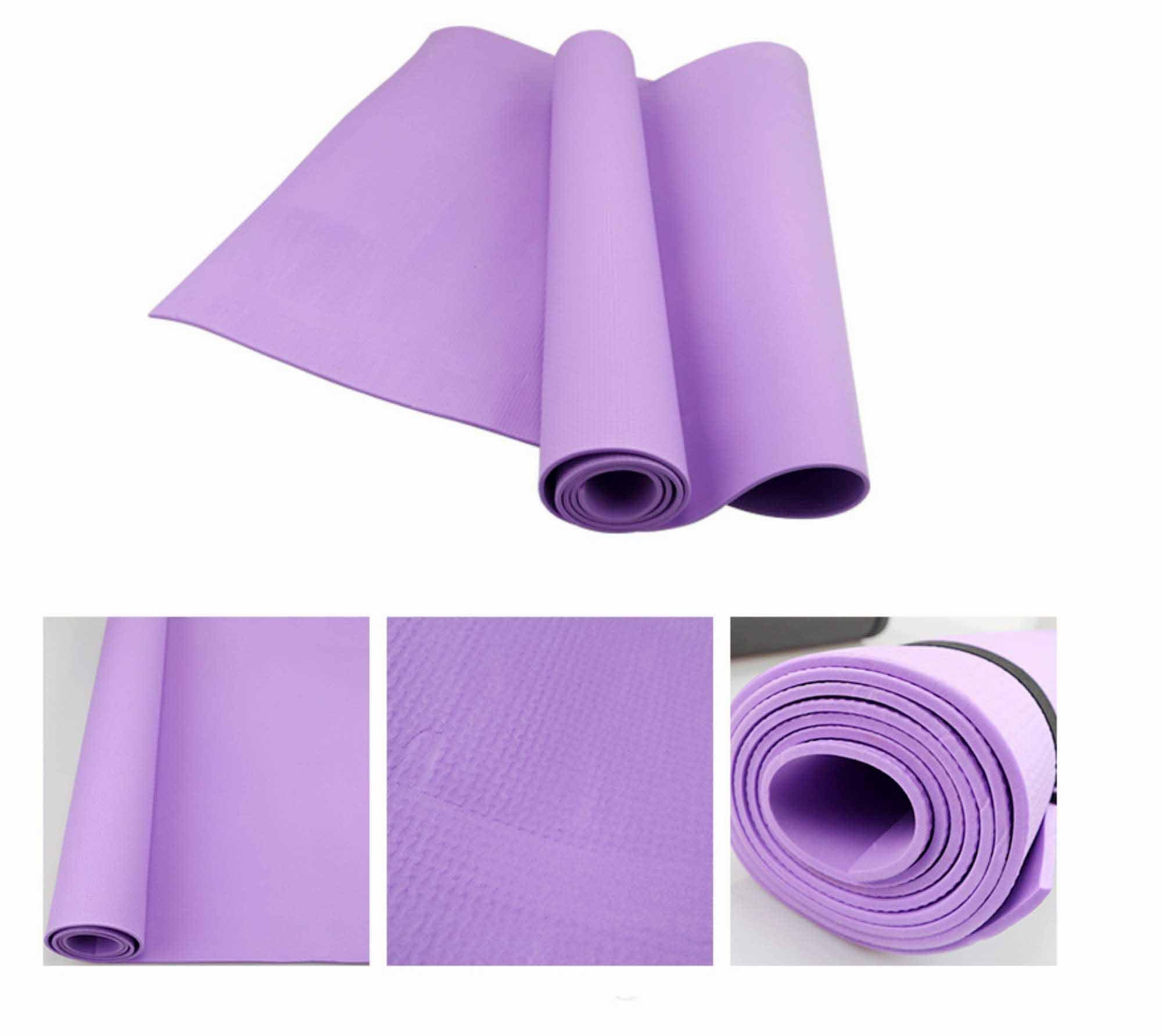 HIGHPOWERED Yoga Matte (dünn) - violett - HIGHPOWERED.ch