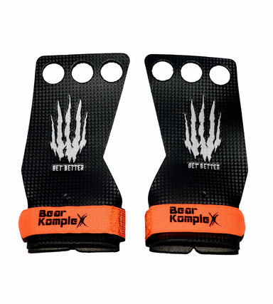Bear KompleX Carbon Gymnastics Grips (3-Loch) 01 -  HIGHPOWERED.ch