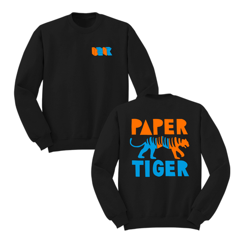 Paper Tiger Black Crewneck