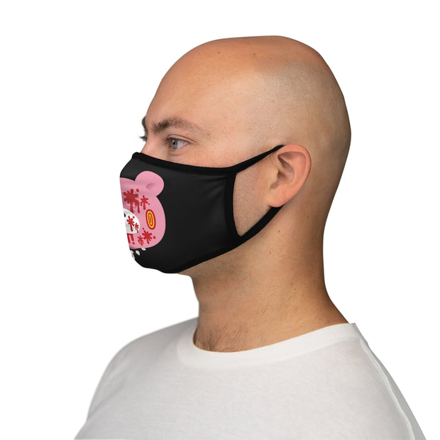 GLOOM Blowing-Steam Pink Head Face Mask