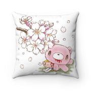 Sakura Gloomy & Pity - Spun Polyester Square Pillow