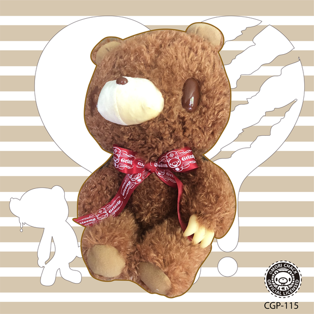 Gloomy Bear - Brown, red ribbon edition