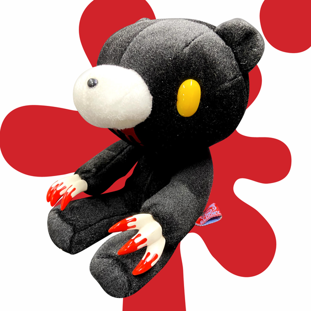 Gloomy Bear Plush - Sitting (Black) CGP-116