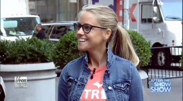Nicole Curtis on Fox and Friends National TV in Detroit Street Apparel!