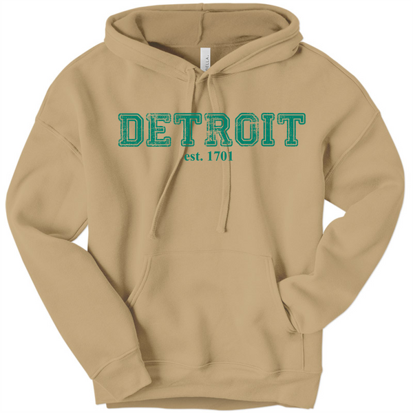 DSA Hooded Sweatshirt Detroit 1701